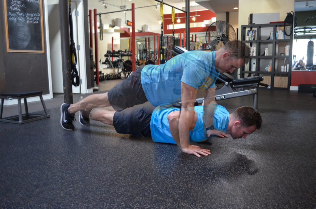 Chris DeRoo Workout pushup