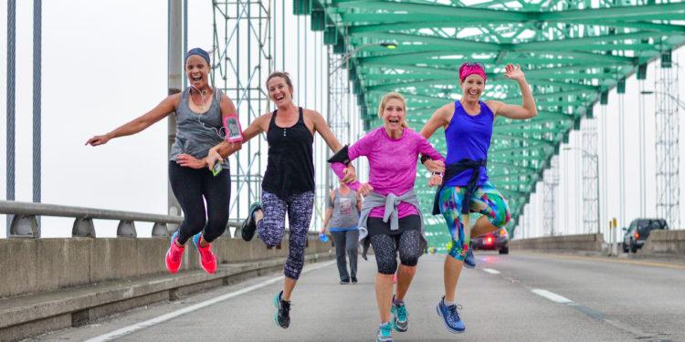Hart Bridge Marathon High