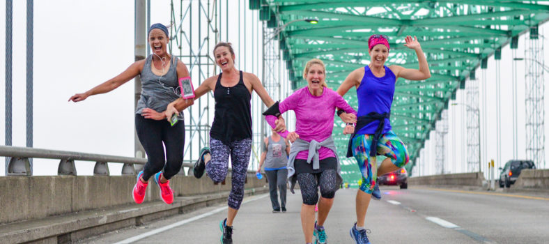 Hart Bridge Marathon High